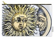 Sun And Moon, 1493 Carry-all Pouch