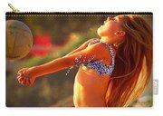 Sun Beach Girl Carry-all Pouch