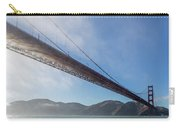 Sun Beams Through The Golden Gate Carry-all Pouch by Scott Campbell
