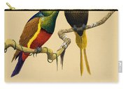 Sun Birds Carry-all Pouch