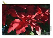 Sun Blushed Poinsettia  Carry-all Pouch