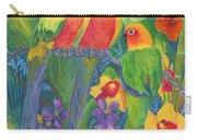 Sun Conure Parrots Carry-all Pouch