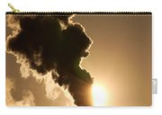 Sun Covered With Soot - Air Pollution Carry-all Pouch