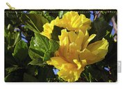 Sun-drenched Yellow Hibiscus Carry-all Pouch