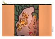 Sun Flower Conection Carry-all Pouch