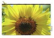 Sun Flower Glow Art Print Summer Sunflowers Baslee Troutman Carry-all Pouch