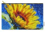 Sun Flower - Id 16235-142821-6349 Carry-all Pouch