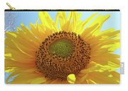 Sun Flowers Art Sunflower Giclee Prints Baslee Troutman  Carry-all Pouch
