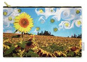 Sun Flowers Field Carry-all Pouch
