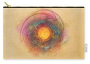 Sun Fractal Abstract Art Carry-all Pouch
