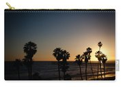 Sun Going Down In California Carry-all Pouch