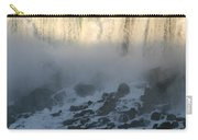Sun Going Down On American Falls Carry-all Pouch
