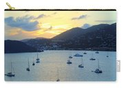 Sun Had Set In St. Thomas Carry-all Pouch