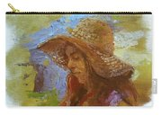 Sun Hat #1 Carry-all Pouch