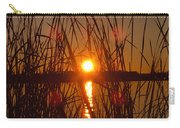 Sun In Reeds Carry-all Pouch