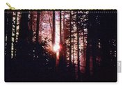 Sun In The Forest Two  Carry-all Pouch