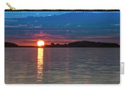Sun Is Setting Over Port Hood Island Carry-all Pouch