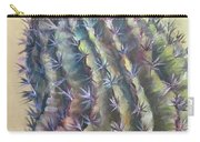 Sun Kissed Barrel Cactus Carry-all Pouch