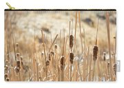 Sun Kissed Cattails - Casper Wyoming Carry-all Pouch