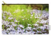 Sun-kissed Meadows With White Star Flowers Carry-all Pouch
