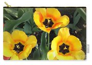 Tulips Kissed By The Sun Carry-all Pouch