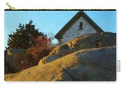 Sun On Granite Carry-all Pouch