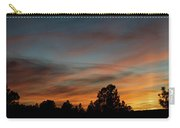 Sun Pillar Sunset Carry-all Pouch