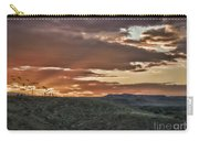 Sun Rays On Colorado Sage Carry-all Pouch
