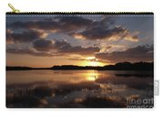 Sun Rise At West Lake In The Everglades Carry-all Pouch