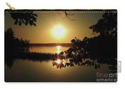 Sun Rise, Hamlin Lake Photograph Carry-all Pouch