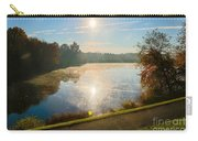 Sun Rising Over Lake Inspiration Carry-all Pouch