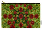 Sun Roses In The Deep Dark Forest With Fantasy And Flair Carry-all Pouch