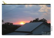 Sun Set On Barn  Carry-all Pouch