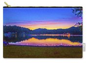 Sun Set On Lake Lure Carry-all Pouch