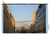 Sun Sets On London Carry-all Pouch