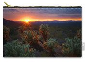 Sun Sets Over The Sonoran  Carry-all Pouch