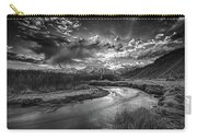 Sun Setting On The Owens River Carry-all Pouch