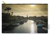 Sun Setting Over Canals Of Naples In Long Beach, Ca Carry-all Pouch