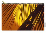 Sun Shining Through Palms Carry-all Pouch