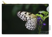 Sun Shining Through The Wings Of A Rice Paper Butterfly Carry-all Pouch