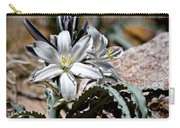 Sun Soaked Desert Lily Carry-all Pouch
