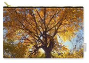 Sun Through Golden Leaves Carry-all Pouch
