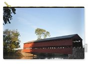 Sun Up At Sachs Covered Bridge Carry-all Pouch