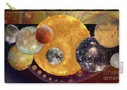 Sun With Planet Moons Carry-all Pouch