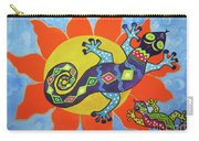 Sunbathing Lizards Carry-all Pouch