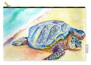 Sunbathing Turtle Carry-all Pouch