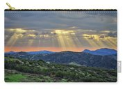 Sunbeams Over Moorpark Hills Carry-all Pouch