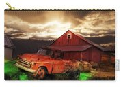 Sunburst At The Farm Carry-all Pouch