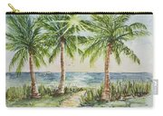 Sunburst Beach Morning Carry-all Pouch