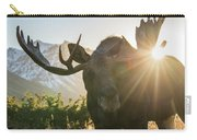 Sunburst In The Antlers Carry-all Pouch